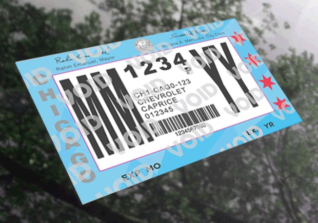 Drivers can start getting $200 tickets daily once their current city sticker expires.