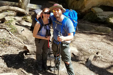 Lincoln Park's Joe Vlasek and Erin McShea are set to walk the Appalachian Trail for the Danny Did Foundation charity.