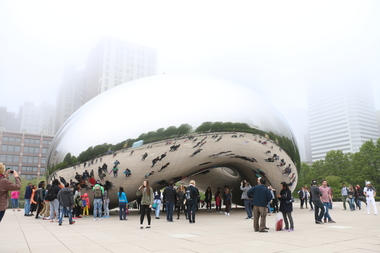 Cloud Gate, AKA the Bean.