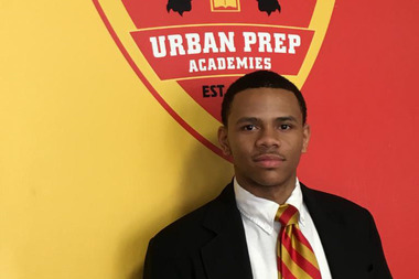 Rudolph Long attends Urban Prep's Englewood campus. He is a 2016 Gates Millennium Scholar.