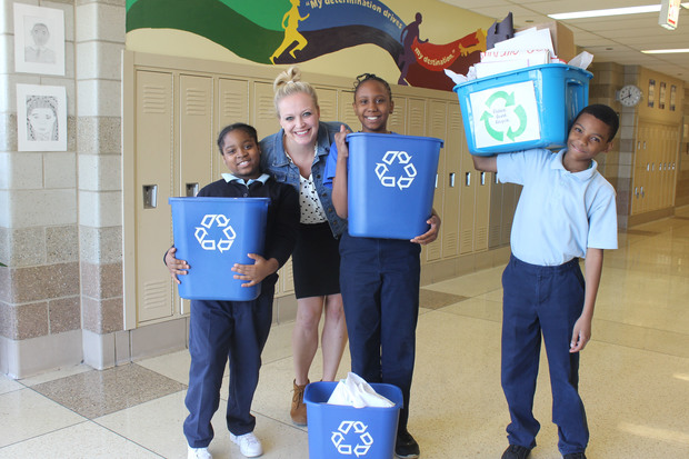 School Didn't Recycle, So Fifth-Graders Started A Program ...