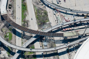 Lanes and ramps along the Stevenson Expressway will be closed Thursday for construction.