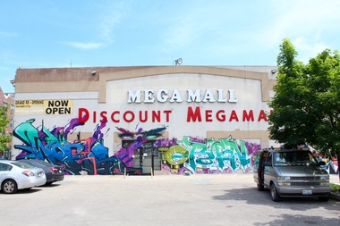 The demolition of the Megamall in Logan Square is finally happening next week.