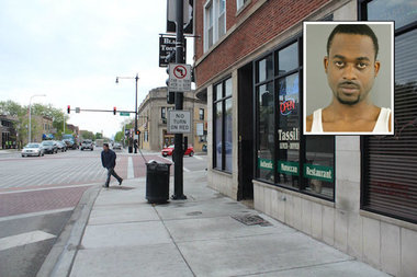 Larry Russell is charged in the fatal shooting of  a 28-year-old man in Irving Park Monday.