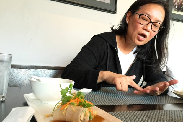 Jenny Yang, owner of Phoenix Bean tofu company in Edgewater, said she's been humbled to be considered