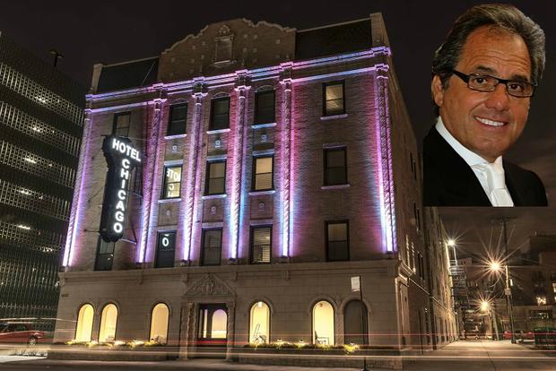 joe perillo 39 s new hotel chicago aims to serve medical. Black Bedroom Furniture Sets. Home Design Ideas
