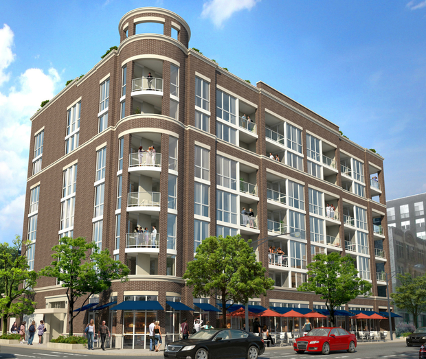 West Town Apartments: Check Out Rendering Of 69-Unit Luxury Apartment Building