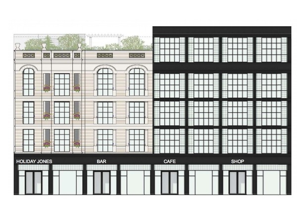 Holiday Jones will present plans for 3469-75 N. Clark St. to Triangle Neighbors next week.