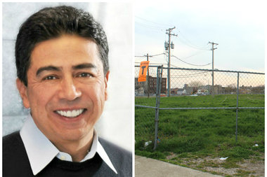 Ald. Danny Solis (25th) announced plans to rezone a massive Pilsen lot in an effort to block a developer's planned redevelopment of the property earlier this month.