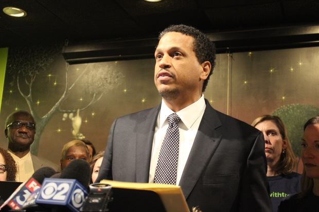 Troy LaRaviere spoke out against CPS and Mayor Rahm Emanuel after his election as president of the Chicago Principals and Administrators Association.