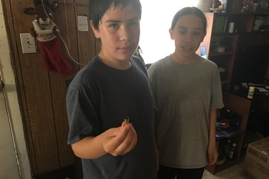 Chicago Kid Collects Bullet Casings Near Home ... And They're Easy To Find
