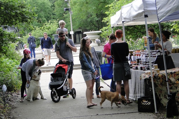 The Wicker Park Farmers Market, every Sunday from 8 a.m.- 2 p.m.