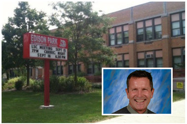 Pete Zimmerman has led Edison Park Elementary since 2008, when it became a neighborhood school.