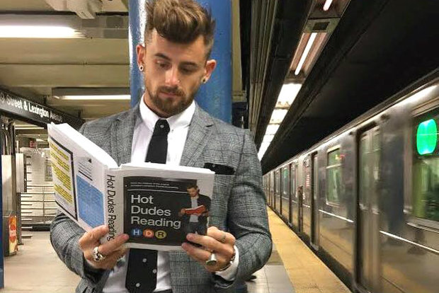 Hot Dudes Reading is an Instagram sensation. But where are all the Chicago guys?