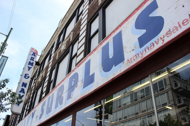 Army Navy Surplus has sold military gear and apparel for 70 years from 3100 N. Lincoln Ave.