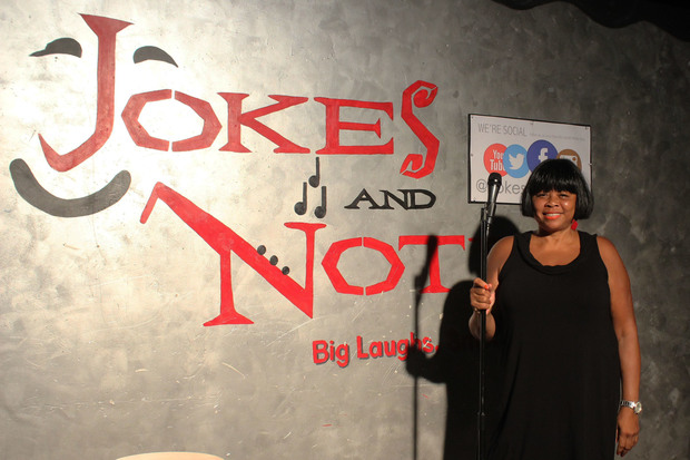 Jokes and Notes owner Mary Lindsey has been in the neighborhood for 11 years.