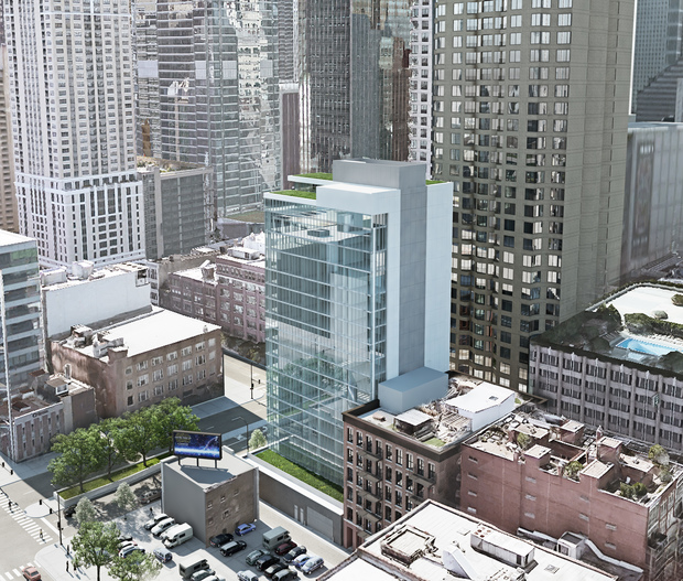New River North Hotel Would Bring Rooftop Lounge, Maybe ...