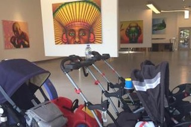 A free family story time event on Sunday will mark the birthday of internationally acclaimed artist Ed Paschke and celebrate the first anniversary of the art center dedicated to his work, organizers said.
