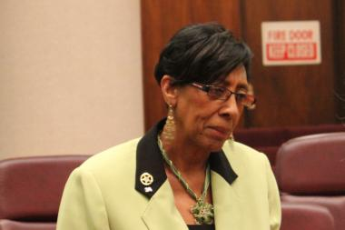 "Ald. Carrie Austin, chairman of the budget committee, warned ""There are always bumps in the road."""