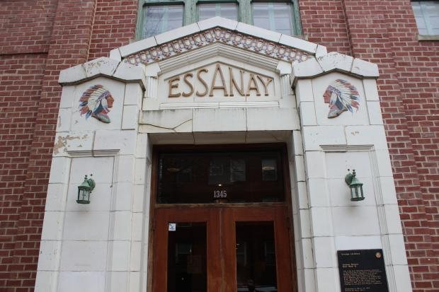 St. Augustine's College showed off plans for a $3 million renovation of Essanay Studios.