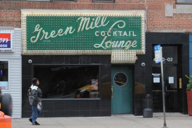 The Green Mill is one of the most vital Uptown music venues, playing host to nightly jazz and weekend poetry slams.