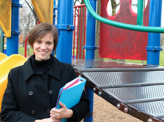 Neighbors in McKinley Park are hoping to raise money to replace aging playground equipment.