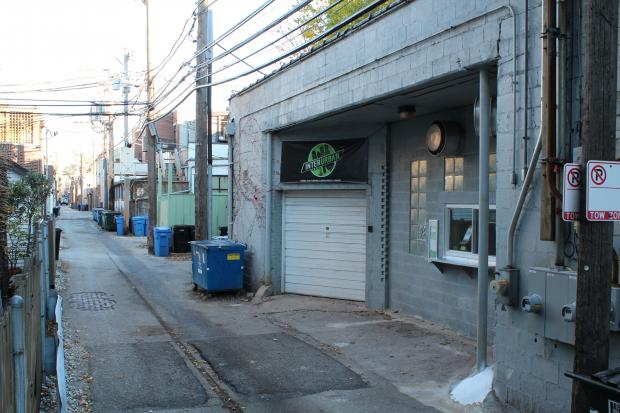 Interurban Cafe and Pastry Shop is set to open in an alley off Armitage Avenue just west of Halsted Street.