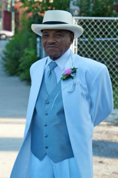 Isaac Hopgood, 68, was found strangled to death inside his Chicago Lawn apartment March 29. According to his daughter, he was never caught in jeans.