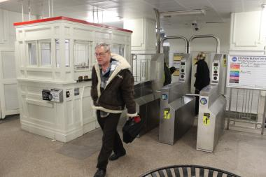 A woman was fatally injured Thursday after falling down the stairs at the Bryn Mawr Red Line station.