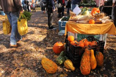 The last outdoor Logan Square Farmers Market of the season will be held Sunday.