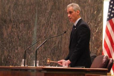 Mayor Emanuel presides over the City Council meeting Wednesday where his overhauled Board of Ethics was approved.