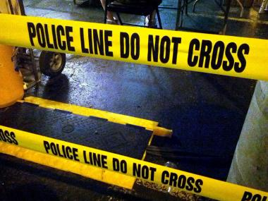 Two men were injured in separate shootings Saturday night.