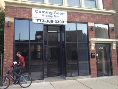 Building owner Tony Barbanente planned to open a soup bar restaurant at the Jarvis location, but after plans fell through, George Spiratos expressed interest in opening a restaurant of his own.