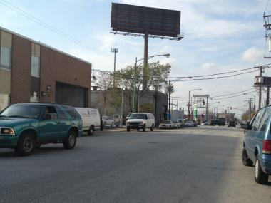 City officials rezoned a stretch of Northwest Highway starting at Milwaukee Avenue and stretching north to Oliphant Avenue to protect manfacturing jobs.