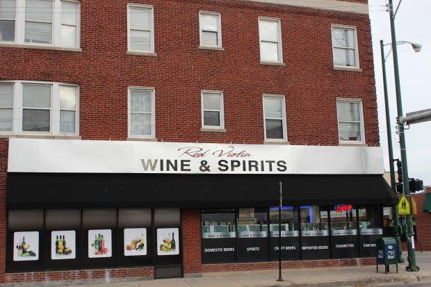 Despite an uproar of disapproval, a liquor store opened on a busy street corner.