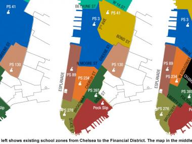 City Releases Revised School Rezoning Plan For District 2 Downtown
