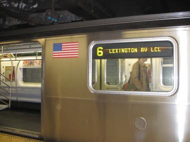 A suspicious package was found on the 6 train, Monday morning, at Grand Central Station.