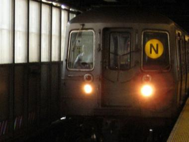 A man was struck and killed by an N train at the 31st Street station in Astoria on April 1, 2012.