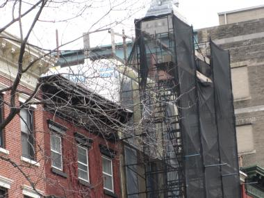 The Hopper-Gibbons House's owner now plans to go to court to keep his fifth floor addition.