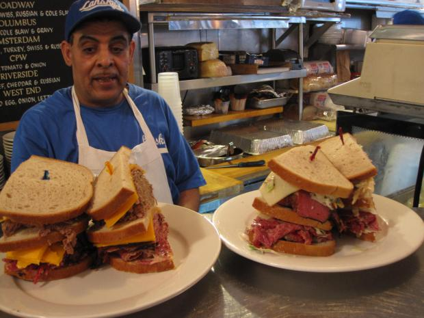 The popular Jewish deli was known for its pastrami and matzo ball soup, among other dishes.