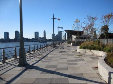 The Hudson River Park Trust oversees greenspace and piers along the Hudson River.
