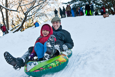 DNAinfo.com New York has compiled a list of the top sledding spots in the five boroughs.