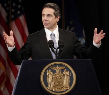 New York Gov. Andrew Cuomo delivered his second state budget address Tuesday, Jan. 17, 2011.