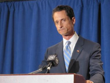"Anthony Weiner says ""It's now or maybe never for me"" on a return to politics."