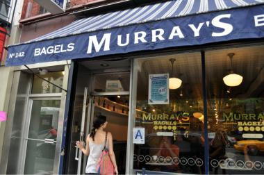 Murray's is now toasting their bagels.