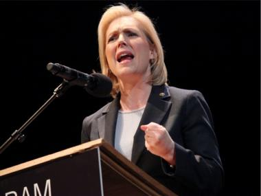 Sen. Kirsten Gillibrand is pushing a bill to help veterans find jobs.