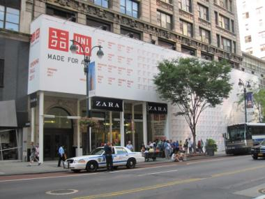 The new UNIQLO store is set to open this fall.