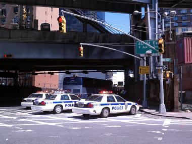 A Port Authority engineer was hit by a Greyhound bus at 40th Street and Dyer Avenue, near the bus terminal on July 15, 2011.