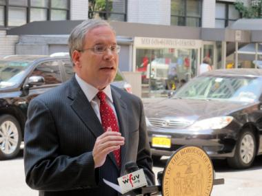 Scott Stringer blasted the City Council's member item allocation process as