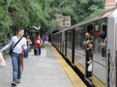 The southbound track of the 1 train at Dyckman Street will become accessible for people with mobility issues in 2014.